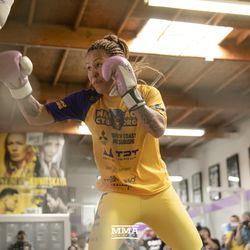 , Foto: Cris Cyborg abre ejercicio en Bellator 238 Media Day, Noticia Sport