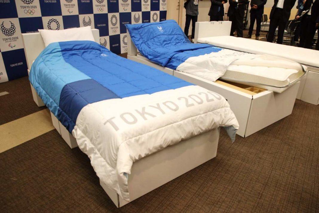 Los atletas de Tokio 2020 advirtieron que las camas de cartón en la villa olímpica no admitirán tríos ... pero el sexo con una pareja está bien