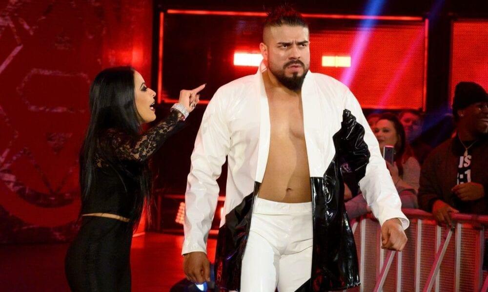 Andrade suspendido por violación de la política de salud de WWE