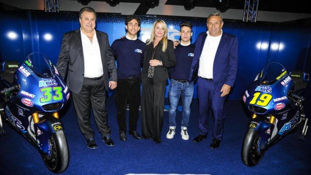 , Aquí está el equipo Italtrans, para conquistar Moto2. Bastianini y Dalla Porta flechas, Noticia Sport, Noticia Sport
