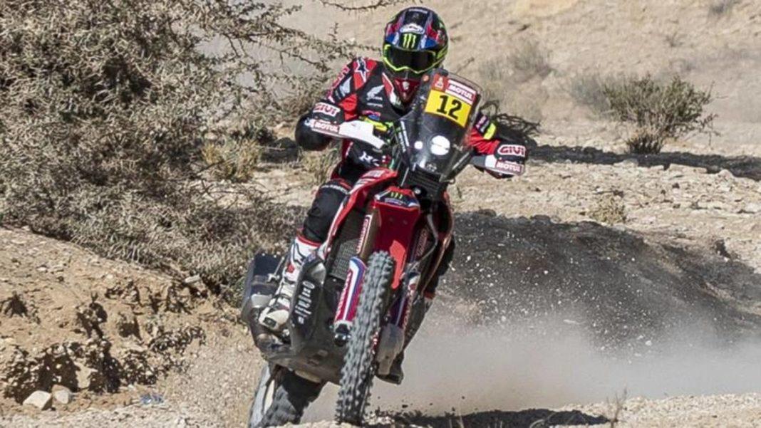 , Dakar moto, la victoria de Barreda en la décima etapa acortada por el viento. Gerini noveno, Noticia Sport, Noticia Sport