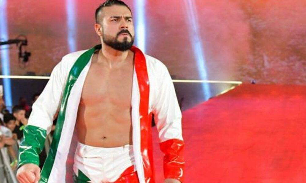 , Declaración oficial de WWE sobre la violación de la política de salud de Andrade, Noticia Sport, Noticia Sport