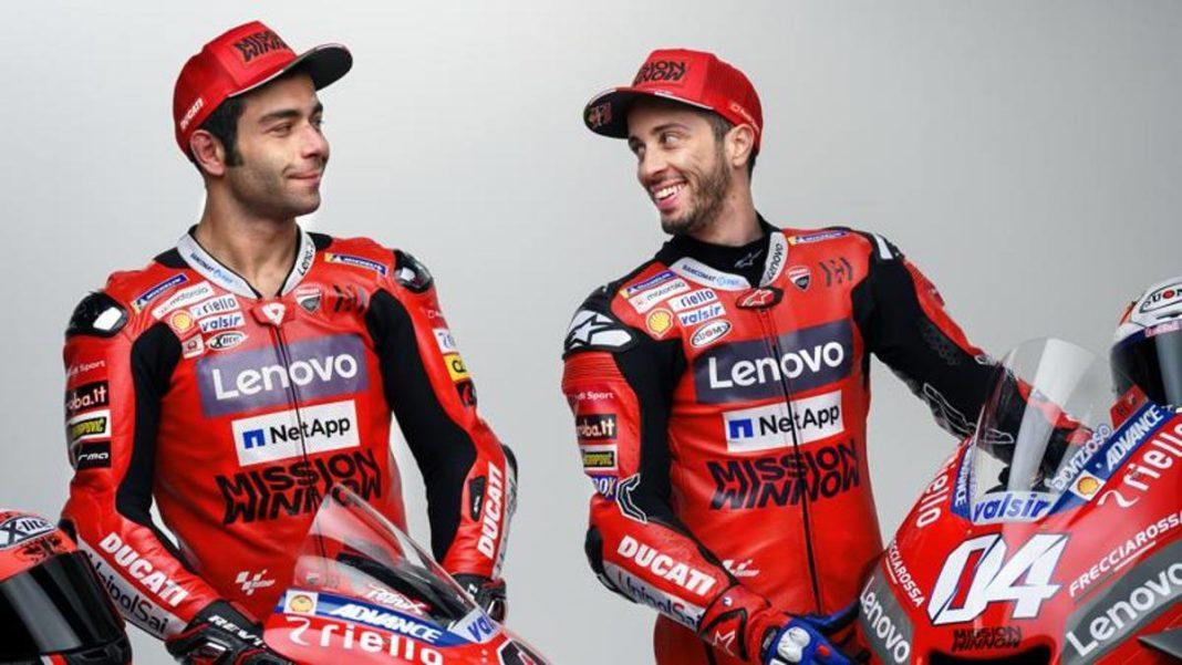 """Dovizioso: """"Ducati, el objetivo es el título"""". Petrucci: """"Mugello me ha dado una gran confianza"""""""