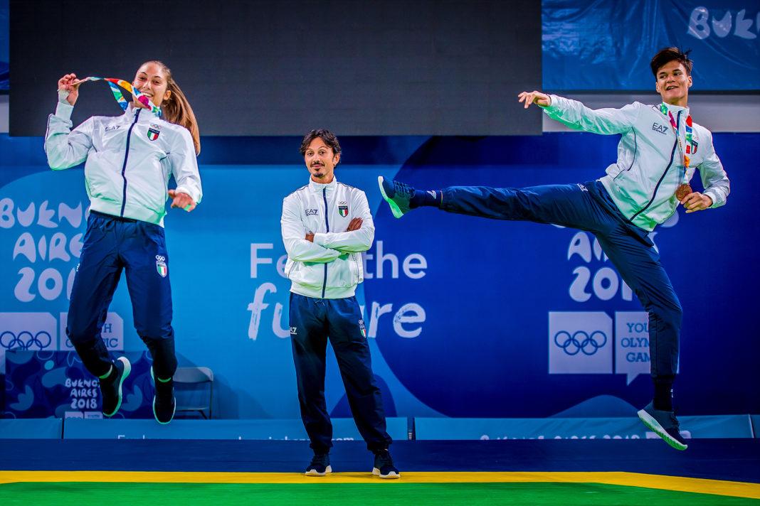 사본 -YOG (10.10.2018) Evening-78_ITALY_two qualified two bronze medals