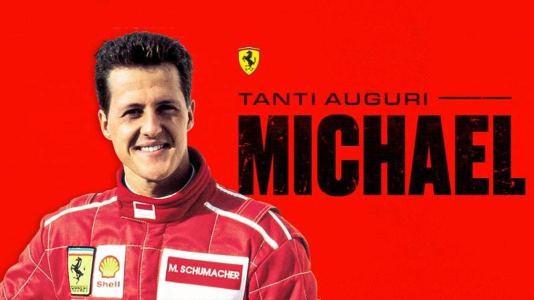 , Los 51 años de Schumacher. Ferrari desea, Noticia Sport, Noticia Sport