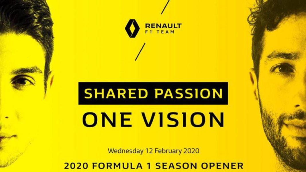 Renault F.1, la presentación el 12 de febrero -