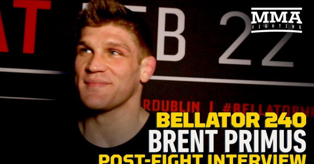 Brent Primus quiere pelear contra Patricio'Pitbull'Freire después de que Bellator 240 gane