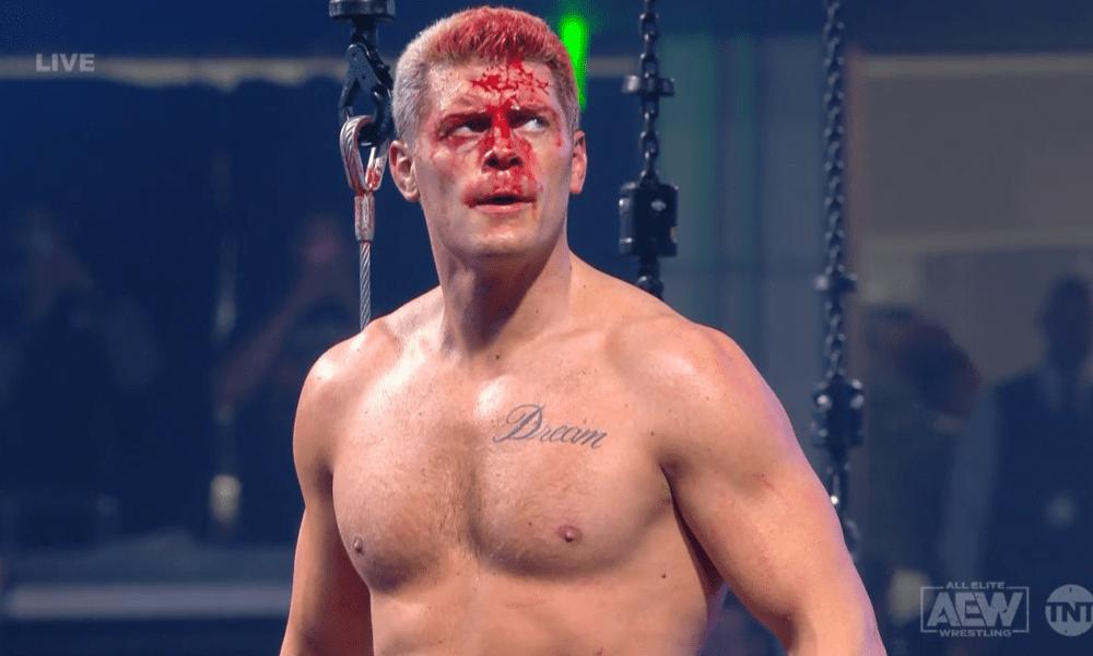 Cody Rhodes derrota a Wardlow en un sangriento combate de jaula de acero con explosivos AEW