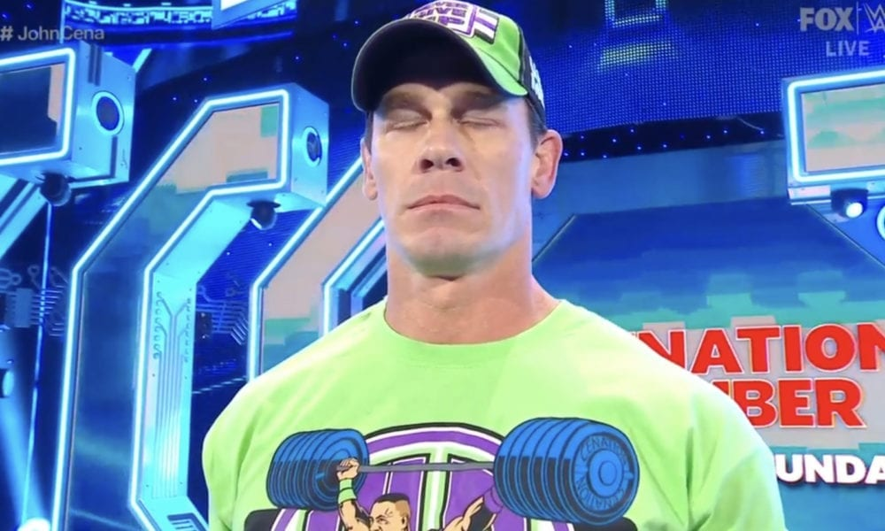 El partido de John Cena se juega para WWE WrestleMania 36