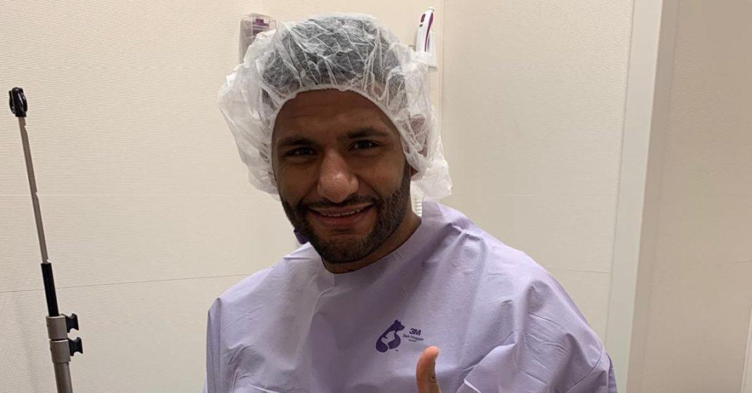 El peso welter de UFC Diego Lima se somete a una exitosa cirugía de cuello