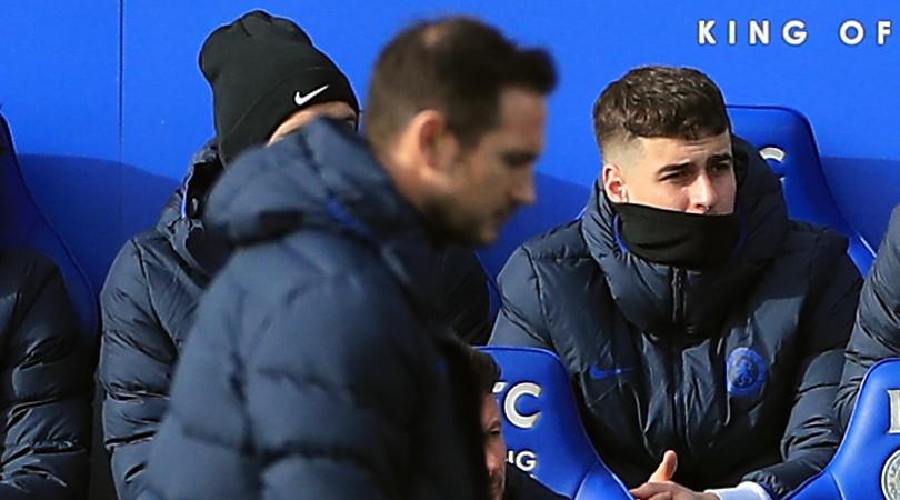 Luis Enrique estaba preocupado por el tiempo de juego de Kepa Arrizabalaga en el Chelsea