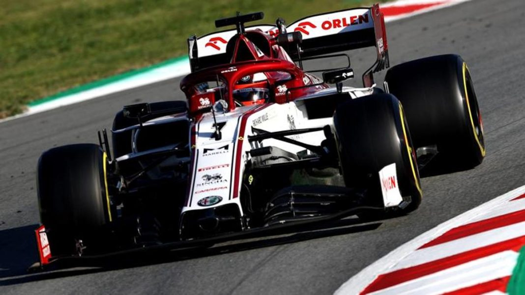 Prueba F.1 en Montmeló Raikkonen el más rápido del segundo día -