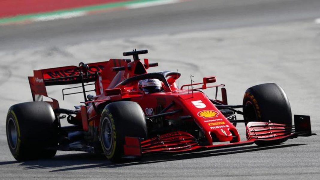 , Prueba Montmelò, Vettel cierra a la cabeza. Fracaso de Mercedes: Hamilton se detiene –, Noticia Sport, Noticia Sport