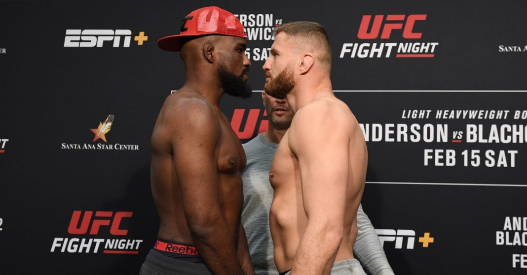 , Resultados de UFC Rio Rancho: Corey Anderson vs. Jan Brakovic 2, Noticia Sport, Noticia Sport