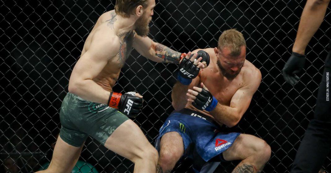Video: Mira los 40 segundos de Conor McGregor vencer a Donald Cerrone en UFC 246