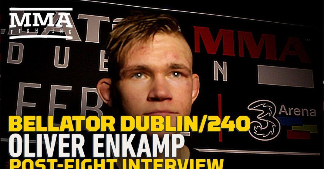 , Video: Oliver Enkamp revisa cómo configuró el rodillo de resaltado KO en el Bellator 240, Noticia Sport, Noticia Sport