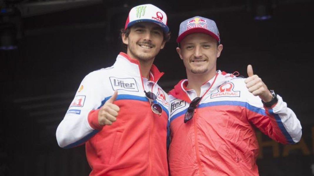 , Bagnaia: «Listo para el desafío Ducati». Miller: «Parece un purgatorio», Noticia Sport, Noticia Sport