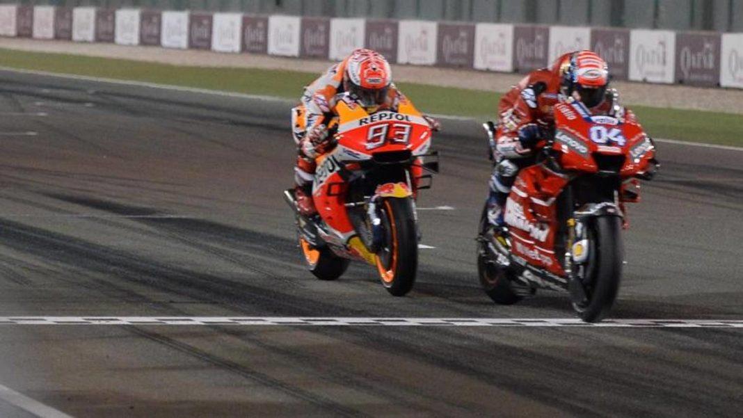 Coronavirus, MotoGP cancelado en Qatar. Solo se corren Moto2 y Moto3