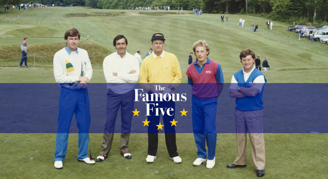 Los cinco famosos | Global Golf Post