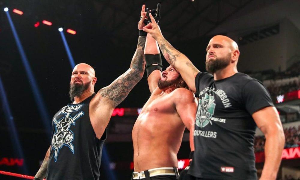 AJ Styles está muy insatisfecho con el lanzamiento de Luke Gallows y Karl Anderson por parte de WWE