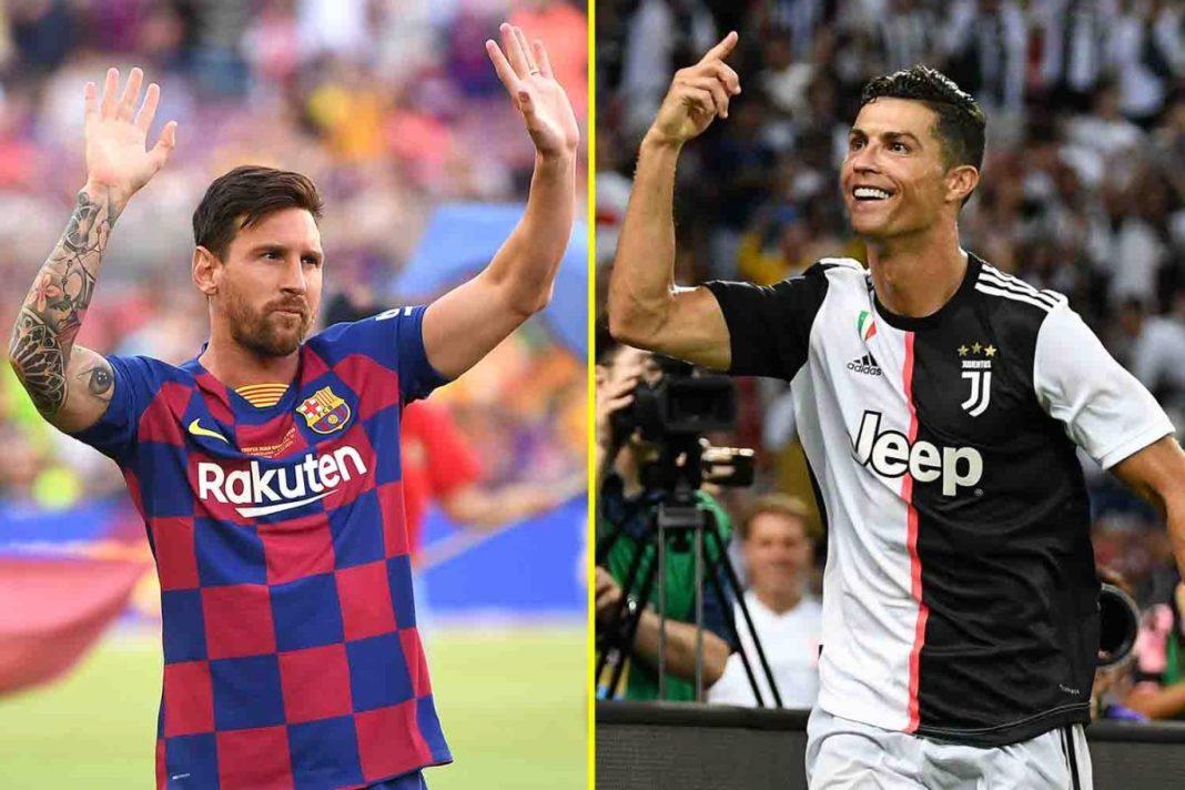 Donde Cristiano Ronaldo y Lionel Messi se clasifican en comparación con los atletas mejor pagados en la década anterior, incluidos Floyd Mayweather y Lewis Hamilton