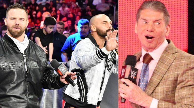 El avivamiento reaccionó a las fotos filtradas de la loca idea de Vince McMahon de darles una nueva cabeza