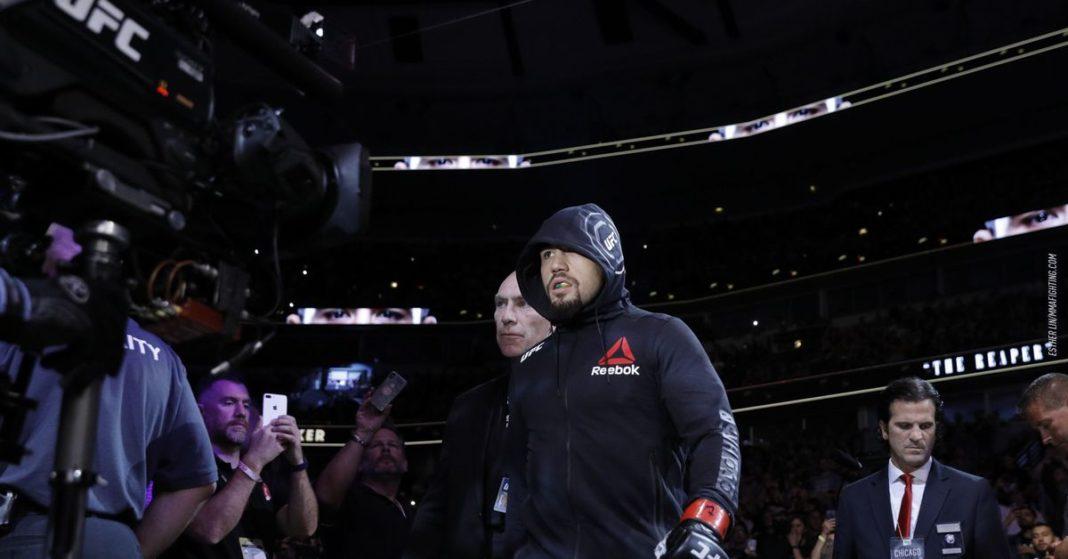 Robert Whittaker rompió el silencio sobre la retirada de UFC 248:
