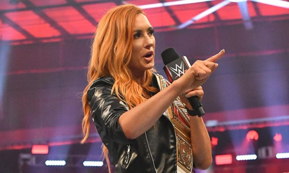 Becky Lynch alcanza el hito de la WWE