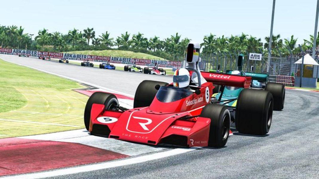 Carreras virtuales: debut desafortunado para Vettel -
