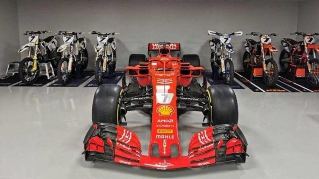 F1, un regalo para Kimi: Ferrari le da a Raikkonen un SF71H -