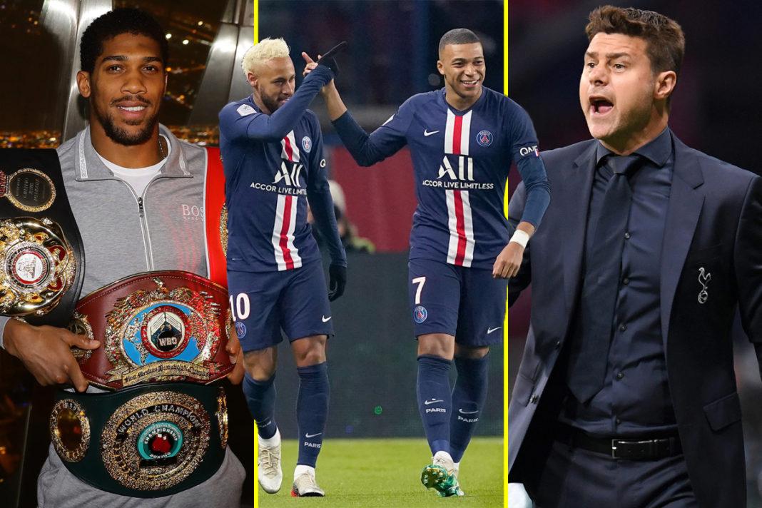 Noticias deportivas EN VIVO: ¿El PSG se coronó campeón, Pochettino quiere el regreso del Tottenham y el boxeo británico en julio?