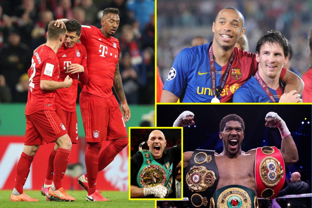 Noticias deportivas EN VIVO: se confirmó la fecha de reinicio de la Bundesliga, se negaron las conversaciones de Anthony Joshua vs Tyson Fury, Lionel Messi estaba asombrado de Thierry Henry