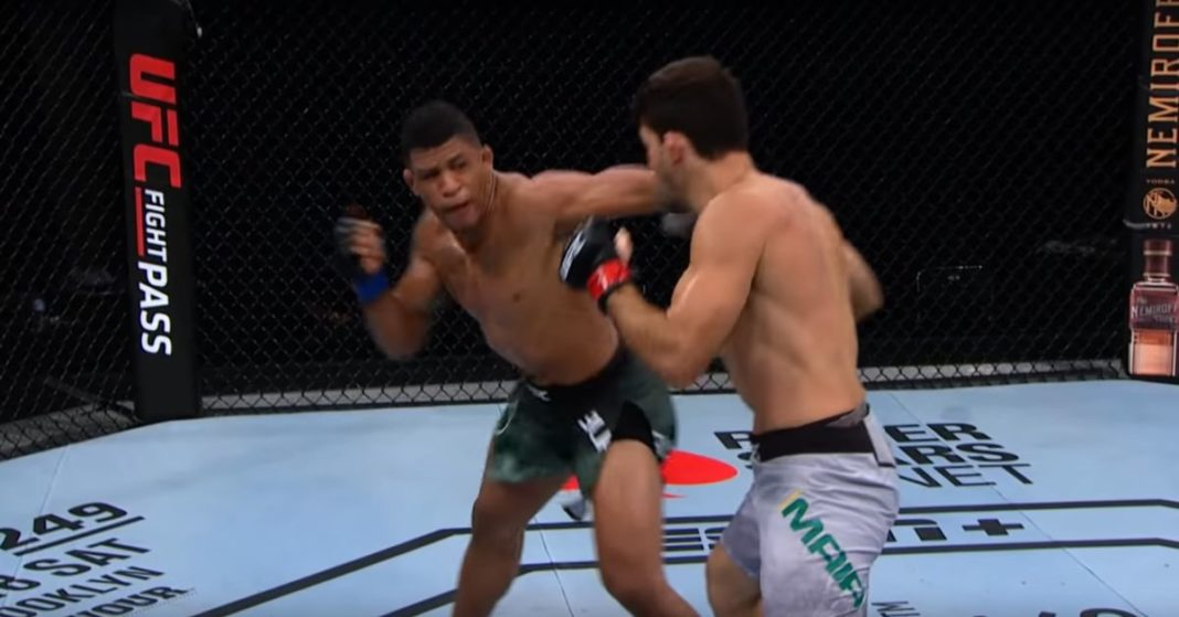 Video de batalla completa de UFC: Gilbert Burns empuja a Demian Maia con el gancho de punta izquierda