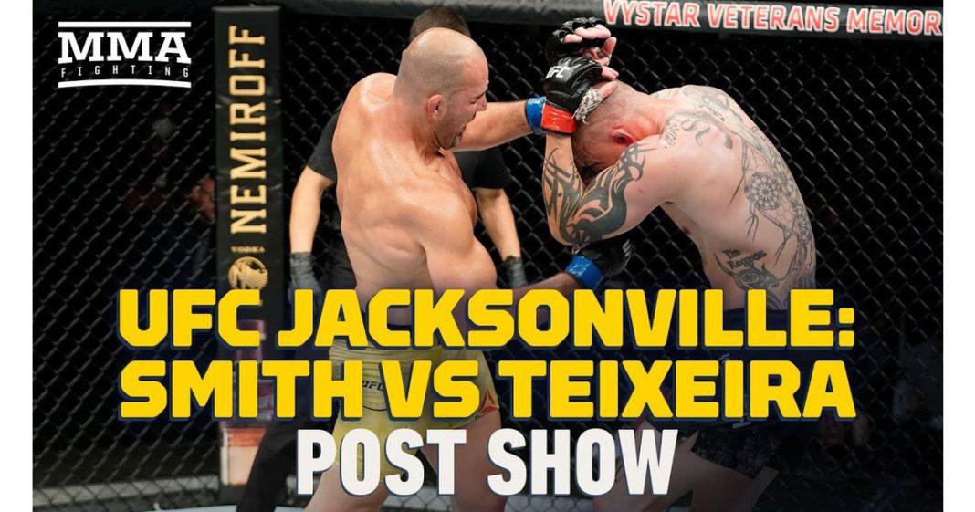 Video: rendimiento post-juego de UFC Jacksonville