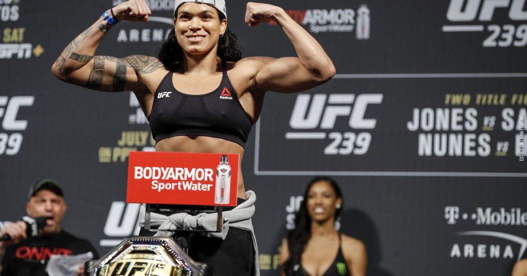 Resultados de pesaje UFC 250: Amanda Nunes (Amanda Nunes), Felicia Spencer (Felicia Spencer) preparándose para la inclinación del campeonato