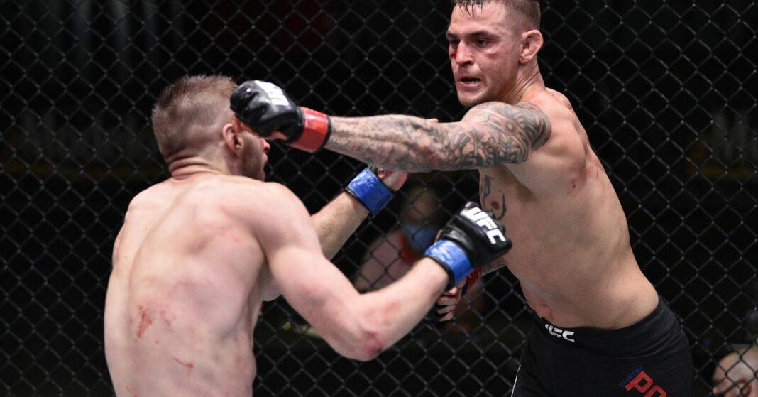 UFC pagó con salario ESPN 12: Dustin Poirier lidera con un premio de $ 300,000