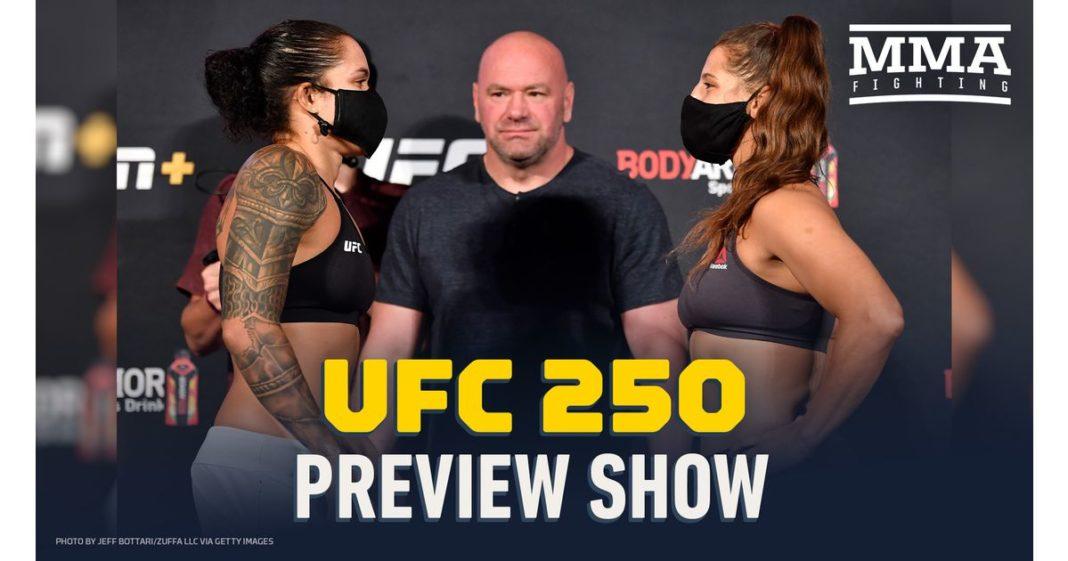 Video: espectáculo de vista previa de UFC 250