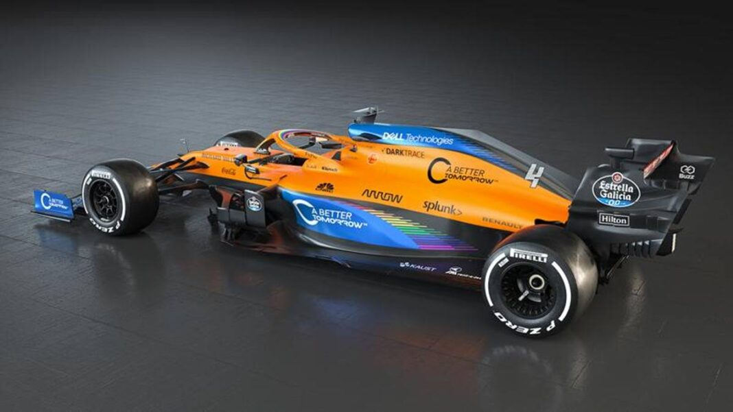 Fórmula 1: McLaren, librea contra coronavirus y racismo