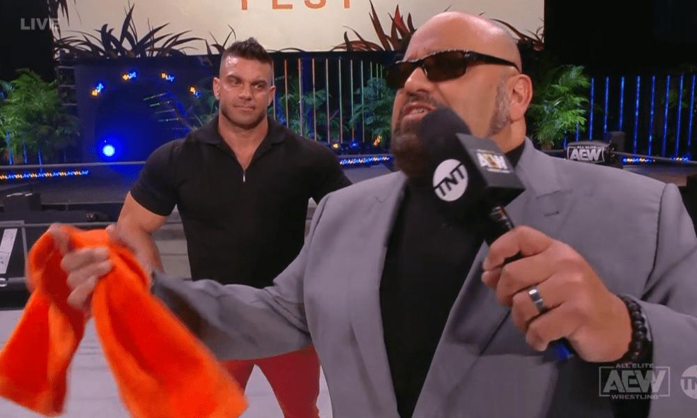 Jon Moxley y Brian Cage se mudaron a AEW el 15 de julio para luchar por los caídos.