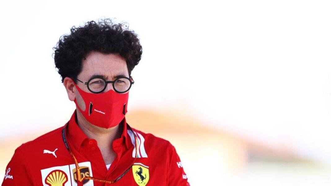 Binotto y la crisis de Ferrari: 'Falta algo, los pilotos no tienen confianza'