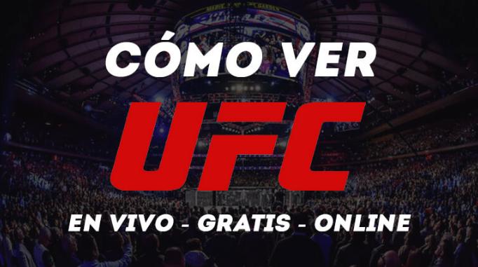 Cómo Ver UFC