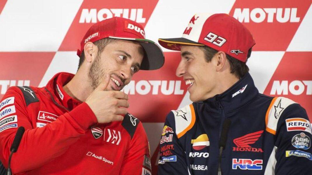 """Márquez """"puntúalo"""" Dovizioso: """"Se merece el título, muchos estarían felices"""""""