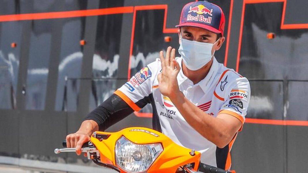 Márquez sigue parado: se perderá los dos próximos GP de Austria.  Bradl permanece en su lugar