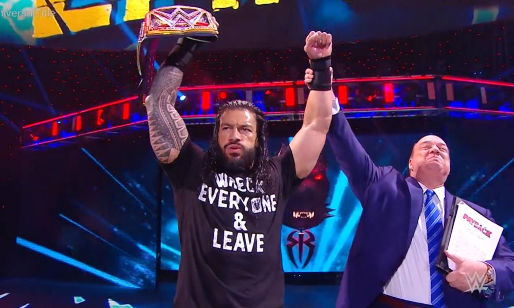 Resultado del retorno de la inversión de la WWE: el anillo interior se rompió, Roman Reigns se convirtió en el nuevo campeón mundial