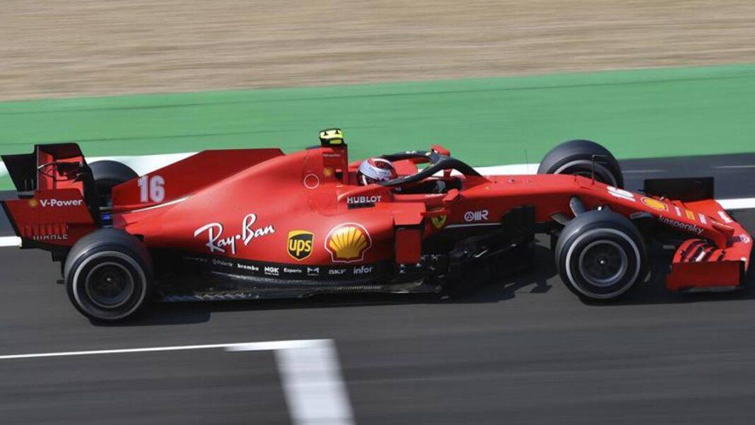 Silverstone, Leclerc: