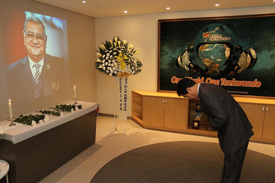 , World Taekwondo rinde homenaje al general Ahmed Fouly, Noticia Sport