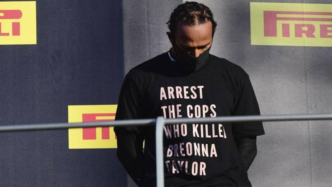 Camiseta de Hamilton para Breonna: la FIA no abrirá investigaciones