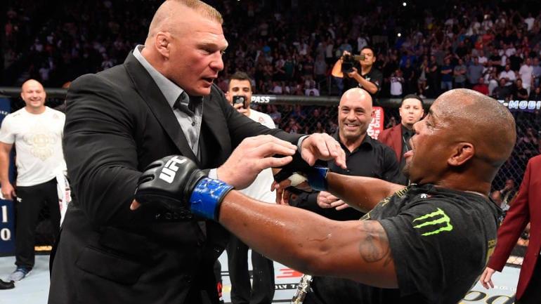 Daniel Cormier quiere luchar contra Brock Lesnar en wrestling mania