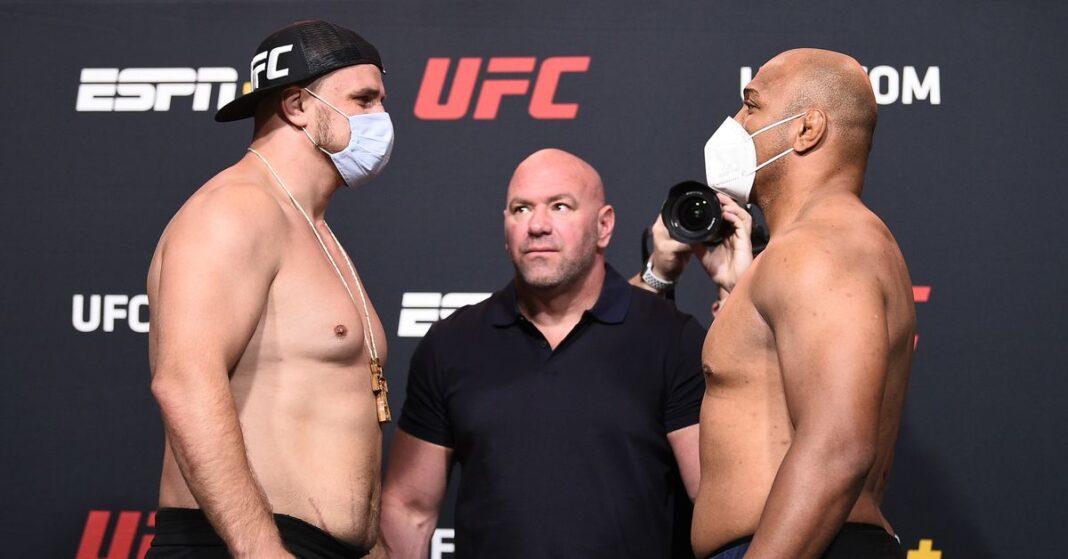 Después de que Marcos Rogerio de Lima dio positivo por COVID-19, UFC Vegas 9 cayó a 7