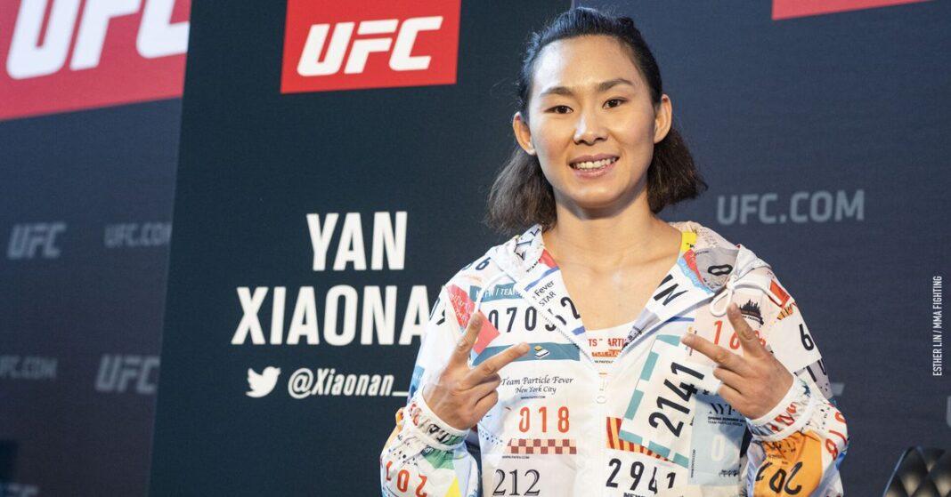 El gol de Claudia Gadelha contra Yan Xiaonan es el juego de UFC el 7 de noviembre